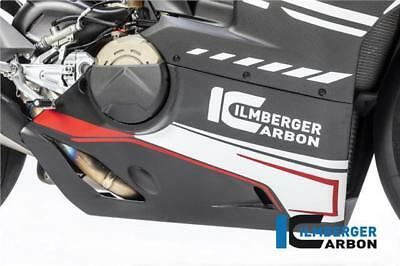 Ilmberger GLOSS Carbon Bellypan For Slip-On Akrapovic Ducati Panigale V4 S 2018