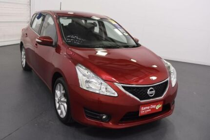 2014 Nissan Pulsar C12 ST-S Red Continuous Variable Hatchback