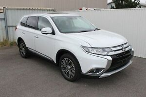 2016 Mitsubishi Outlander ZK MY17 Exceed 4WD White 6 Speed Sports Automatic Wagon Devonport Devonport Area Preview