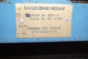 baker band resaw.
