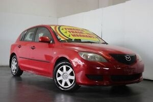 2005 Mazda 3 BK Neo Red 5 Speed Manual Hatchback Underwood Logan Area Preview