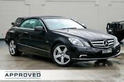 2010 Mercedes-Benz E250 CGI A207 Elegance Metallic Black/tan L 5 Speed Sports Automatic Cabriolet Brookvale Manly Area Preview
