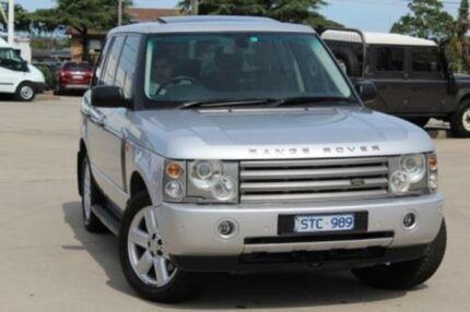 2004 Land Rover Range Rover Vogue V8 Zambezi Silver 5 Speed Automatic Wagon
