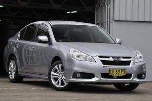 2013 Subaru Liberty MY13 2.5I Silver 6 Speed Continuous Variable Sedan Mosman Mosman Area Preview
