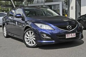 2010 Mazda 6 GH1052 MY10 Classic Blue 5 Speed Sports Automatic Hatchback Mount Gravatt Brisbane South East Preview