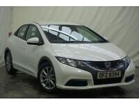 2013 Honda Civic 1.3 I-VTEC SE 5d 98 BHP Petrol white Manual