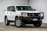2012 Toyota Landcruiser Prado KDJ150R GX White 6 Speed Manual Wagon Welshpool Canning Area Preview