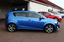 2015 Holden Barina TM MY15 RS Blue 6 Speed Manual Hatchback Northbridge Perth City Preview