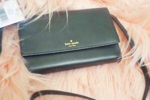 Kate Spade Wright Place Winni Mini Wallet Crossbody Black Pink