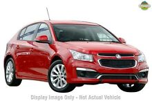 2015 Holden Cruze JH MY15 SRi Red Hot 6 Speed Automatic Hatchback Homebush Strathfield Area Preview