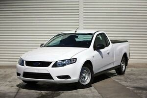 2011 Ford Falcon FG EcoLPi Ute Super Cab White 6 Speed Sports Automatic Utility Seaford Frankston Area Preview