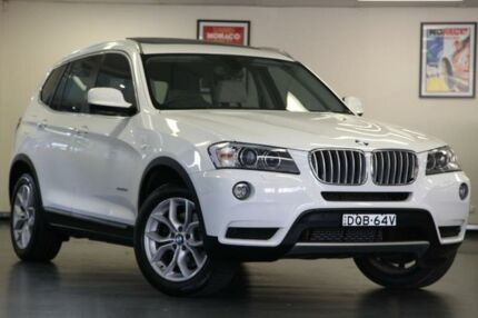 2013 BMW X3 F25 White Automatic Wagon