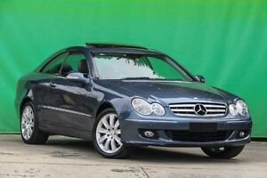 2005 Mercedes-Benz CLK280 C209 MY06 Elegance Blue 7 Speed Automatic Coupe Ringwood East Maroondah Area Preview
