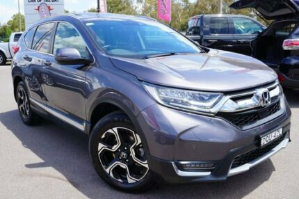 2017 Honda CR-V RW MY18 VTi-LX 4WD Grey 1 Speed Constant Variable Wagon Phillip Woden Valley Preview
