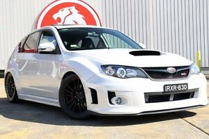 2012 Subaru Impreza G3 MY13 WRX AWD Pearl White 5 Speed Manual Hatchback Lansvale Liverpool Area Preview