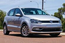 2015 Volkswagen Polo 6R MY15 Silver 7 Speed Sports Automatic Dual Clutch Hatchback Hawthorn Mitcham Area Preview