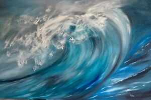 Exquisite large Art Paintings on canvas by Canadian artist Remi