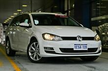 2015 Volkswagen Golf VII MY15 110TDI DSG Highline White 6 Speed Sports Automatic Dual Clutch Wagon Myaree Melville Area Preview
