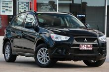 2012 Mitsubishi ASX XA MY12 2WD Black 6 Speed Constant Variable Wagon Kippa-ring Redcliffe Area Preview