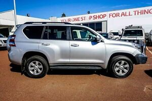 2015 Toyota Landcruiser Prado KDJ150R MY14 GXL Silver 5 Speed Sports Automatic Wagon Westminster Stirling Area Preview