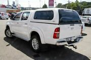 2015 Toyota Hilux KUN26R MY14 SR5 Double Cab White 5 Speed Automatic Utility Myaree Melville Area Preview
