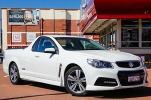 2013 Holden Ute VF MY14 SS Ute White 6 Speed Sports Automatic Utility Fremantle Fremantle Area Preview