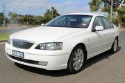 2003 Ford Fairmont BA Ghia White 4 Speed Automatic Sedan West Footscray Maribyrnong Area Preview