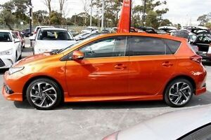 2015 Toyota Corolla Orange Constant Variable Hatchback Frankston Frankston Area Preview