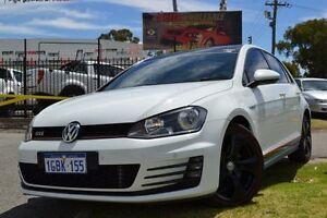2014 Volkswagen Golf AU MY14 GTi White 6 Speed Direct Shift Hatchback Maddington Gosnells Area Preview