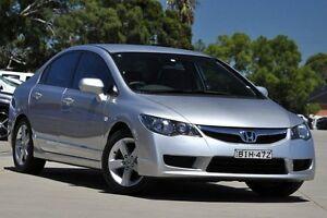 2009 Honda Civic MY08 VTi-L Silver 5 Speed Automatic Sedan Greenacre Bankstown Area Preview