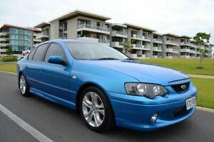 2003 Ford Falcon BA XR6 Blue 5 Speed Manual Sedan
