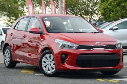 2017 Kia Rio YB MY17 S Signal Red 6 Speed Manual Hatchback