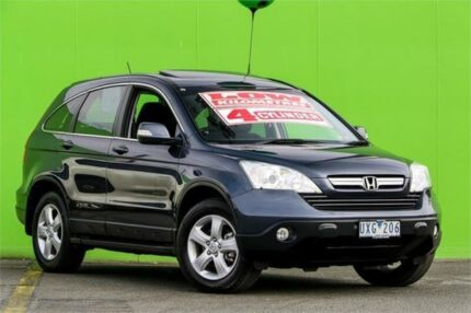 2007 Honda CR-V RE MY2007 Sport 4WD Grey 5 Speed Automatic Wagon Ringwood East Maroondah Area Preview