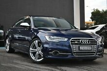 2014 Audi S6 4G MY14 S tronic quattro Blue 7 Speed Sports Automatic Dual Clutch Sedan Burwood Whitehorse Area Preview