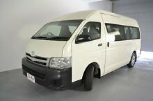 2012 Toyota Hiace KDH223R MY12 Commuter High Roof Super LWB White 4 Speed Automatic Bus Albion Brisbane North East Preview