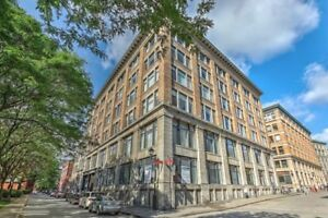 Vieux Port/Old Montreal - New, furnished - 2min to Canal Lachine