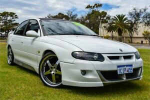 1998 Holden Commodore VT SS White 4 Speed Automatic Sedan Greenfields Mandurah Area Preview