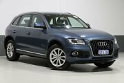 2016 Audi Q5 8R MY17 TDI S tronic quattro Utopia Blue 7 Speed Sports Automatic Dual Clutch Wagon Bentley Canning Area Preview