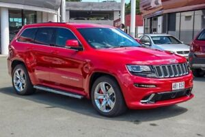 2013 Jeep Grand Cherokee WK MY2014 SRT Red 8 Speed Sports Automatic Wagon