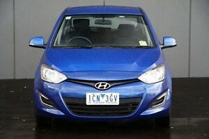 2014 Hyundai i20  Blue Automatic Hatchback Cranbourne Casey Area Preview