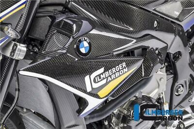Ilmberger GLOSS Carbon Fibre Fairing Badge Radiator Panels BMW S1000R 2019