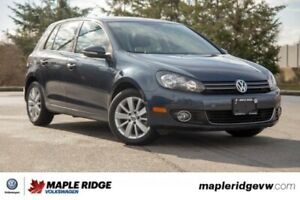2012 Volkswagen Golf Trendline TDI NO ACCIDENTS, LOCAL, SUPER LO