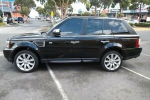 2008 Land Rover Range Rover MY08 Sport 2.7 TDV6 Black 6 Speed Sequential Auto Wagon Melbourne CBD Melbourne City Preview