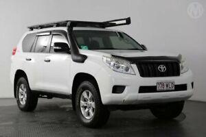 2013 Toyota Landcruiser Prado KDJ150R 11 Upgrade GX (4x4) Glacier White 5 Speed Sequential Auto
