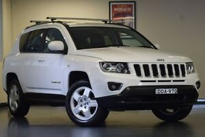 2013 Jeep Compass MK MY14 North White 6 Speed Sports Automatic Wagon Chatswood Willoughby Area Preview