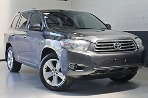 2010 Toyota Kluger GSU45R Grande AWD Grey 5 Speed Sports Automatic Wagon Nailsworth Prospect Area Preview