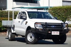 2012 Ford Ranger PX XL Super Cab 4x2 Hi-Rider Cool White 6 Speed Sports Automatic Cab Chassis Acacia Ridge Brisbane South West Preview