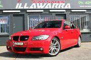 2007 BMW 325I E90 M Sport Red 6 Speed Steptronic Sedan Barrack Heights Shellharbour Area Preview