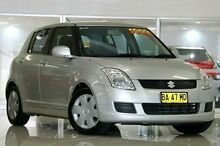 2008 Suzuki Swift RS415 Silver 5 Speed Manual Hatchback Waitara Hornsby Area Preview