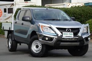 2013 Mazda BT-50 UP0YF1 XT 4x2 Hi-Rider Blue 6 Speed Manual Cab Chassis Acacia Ridge Brisbane South West Preview